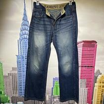 Mens Express Jeans Size 31x32 Blake Loose  Fit  Regular Rise Boot Cut Photo