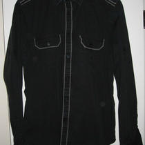 Mens Express Mk2 Shirt Black/grey Piping Medium Photo