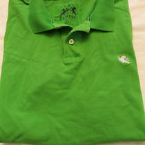 Mens Express Modern Fit Bright Green Polo Size Xxl  Photo