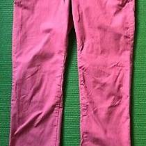Mens Express Photographer Pink Skinny Chino Pants Trousers Slim Fit Size 30/32 Photo