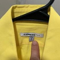 Mens Express  Shirt Size Medium Yellow Photo