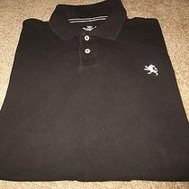 Mens Express Short Sleeve Black Polo Shirt Size Xxl Photo