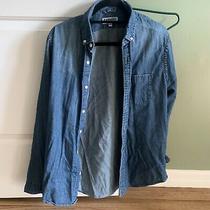 Mens Express Soft Wash Denim Shirt M Photo