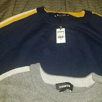 Mens Express Sweater Size Xl Pullover Designer Casual New Fall Photo