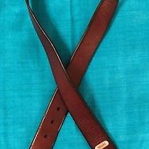 Mens Fossil Genuine Leather Belt Size 36 Brown 106342 Width 1 7/16