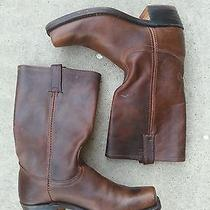 Mens Frye Leather Boots Photo