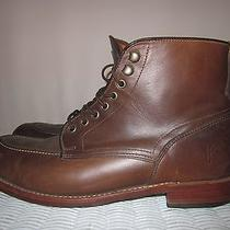Mens Frye Walter Lace Up Moc Toe Boots Size 13 M Photo