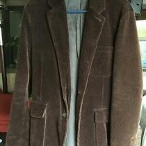 Mens Gap Corduroy Blazer Brown Size S Photo