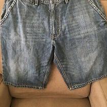 Mens Gap Hayes Jean Shorts Sz 36 Medium Wash Denim Photo