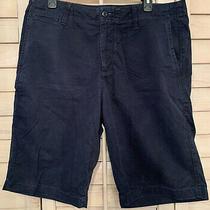 Mens Gap Sz 34 Navy Blue Shorts Summer Back to School Photo