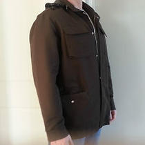 Mens Gap Xl Brown Officer Dress Coat/jacket Photo