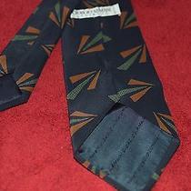 Mens Giorgio Armani 100% Pure Silk Tie Photo