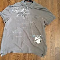 Mens Graphic Polo Xl Photo