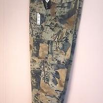 Mens Green Wfs Element Gear Authentic Cargo Trapper Pants Size 42x31 (Nwt) Photo