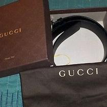 Mens Gucci Belt 100%Authentic Photo
