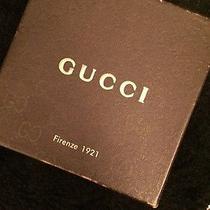 Mens Gucci Belt (Authentic) (Black) U.s Size 32 Photo