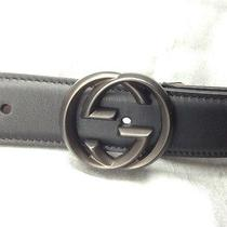 Mens Gucci Belt Nwt Size 44/110  Authentic Leather Belt  Photo