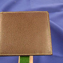 Mens Gucci Pigskin Wallet--Brown Photo