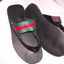 Mens Gucci Sandals Flipflops Brand New  Us Size 9 End Summer Sale Photo