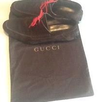 Mens Gucci Suede Shoes Photo