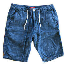 Mens Guess Shorts Size 34 Distressed Blue Nwot Photo