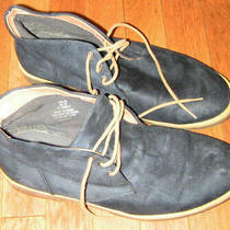 Mens h&m Blue Suede Chukka Ankle Boots Shoes Size 10 Great Photo
