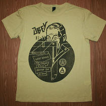 Mens Heather Yellow Obey Hi Fi T-Shirt Size Medium Photo