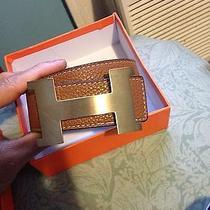 Mens Hermes Belt. (Authentic) Photo