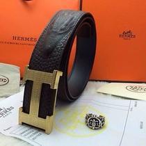 Mens Hermes Crocodile Leather Belt  Photo