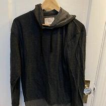 Mens Hooded Sweatshirt Grey Hoodie Hudson and Barrow Large Photo