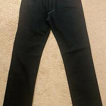 Mens Hugo Boss 677/8 Slim Regular Fit Stretch Jeans Dark Blue Size 34/32 Photo
