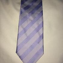 Mens Hugo Boss Blue and Silver Mens Tie Photo