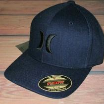 Mens Hurley Blue Hat Flex Fit Fitted Cap Size L/xl Photo