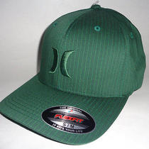 Mens Hurley Capone Green Hat Flex Fit Fitted Cap Size S/m Photo