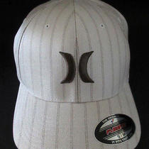 Mens Hurley Hat Flex Fit Fitted Cap Size S/m Photo