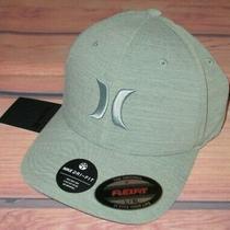 Mens Hurley Nike Dri-Fit Green Hat Flex Fit Fitted Cap Size L/xl Photo