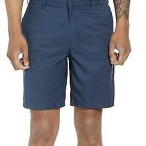Mens Hurley Nike Dri Fit Performance Blue Shorts Size 32 Photo