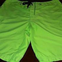 Mens Hurley Shorts Board Surf Green 34 Photo