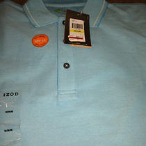 Mens Izod X-Treme Function Golf Moisture Wicking Sun Control Polo Shirt M Nwt Photo