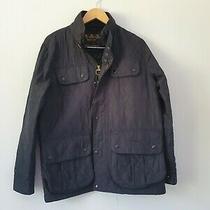 Mens Jacket Size M Black Barbour Ff1761 Photo