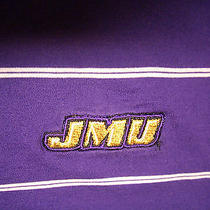 Mens Jmuembroidered Tommy Hilfiger Polo Shirt  Purple & White Size Mcotton Photo