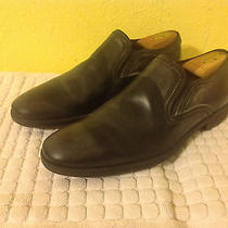 Mens John Varvatos Collection Dylan Venetian Loafer Shoes Sz 10.5 D 350.00 Black Photo