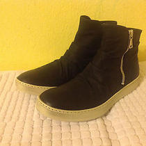 Mens John Varvatos Collection Mac Double  Zip Boots Shoes Sz 11.5 D 595.00 Black Photo