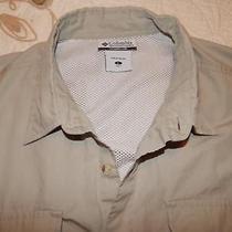 Mens L  -  Xl  Columbia Vented Fishing Shirt Photo