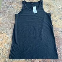 Mens Large Black Hugo Boss Vest Top Muscle Vest Brand New With Tags  Photo
