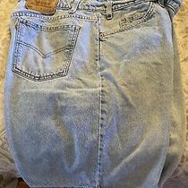 Mens Levi's 550 Jean Shorts Size 40 Photo
