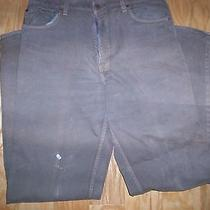 Mens Levis 550 36x36 All Cotton Brown Grunge Good Work or Yard Pants Photo