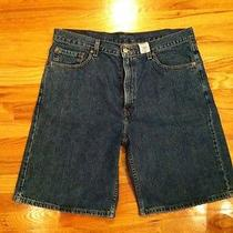 Mens Levis 550 Jean Shorts Sz 36 Excellent  Gr1-B2 Photo