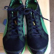 Mens Lime Green and Black Usain Bolt Puma Sneakers/tennis Shoes 11 Photo