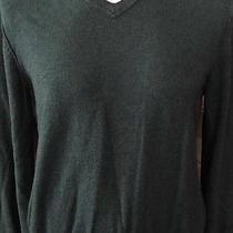 Mens Long Sleeve v Neck Sweater Gap Size Medium Free Shipping Winter Wear Photo